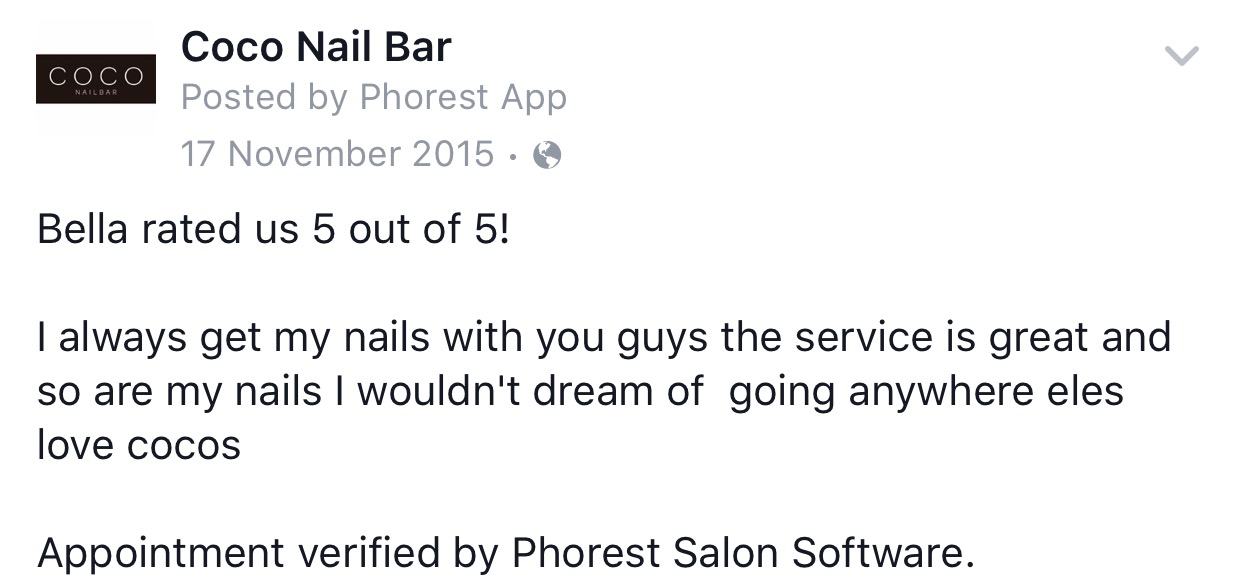 CoCo Nail Bar Review